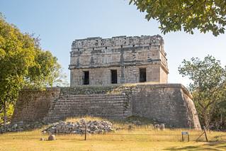 Image of Chichen Itzá near San Felipe Nuevo. 2017 mexico yucatan january winter mayan chichenitza ruins mexique estadosunidosmexicanos redhouse casacolorada mexiko 墨西哥