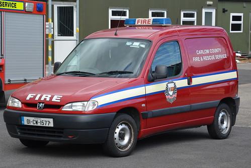 Carlow Fire & Rescue Service 2001 Citroen Berlingo HPMP Fire GPV 01CW1577