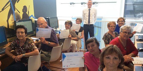 Tech savvy Seniors course for Italian speakers held at Concord Library, NSW
