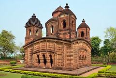 India - West Bengal - Bishnupur - Shyamrai Temple - 27