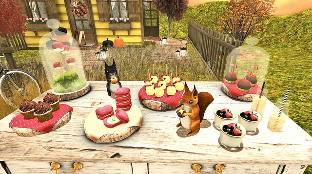 Imeka Woodland Party food for the Arcade