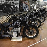 Classic Motorcycles Exhibit: Featuring BMW, Police and Land Speed Record motorcycles
