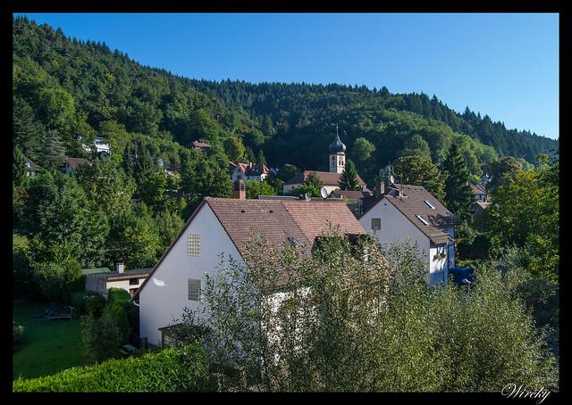 Selva Negra Alsacia Friburgo Vogelgrun Eguisheim Colmar - Ebnet con iglesia San Hilario
