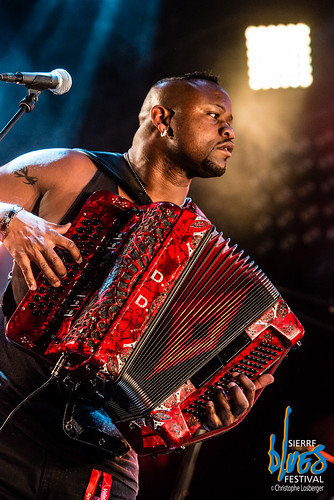 Dwayne Dopsie and The Zydeco Hellraisers @ Sierre Blues Festival