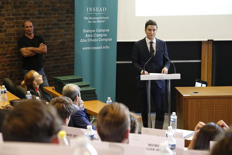 INSEAD Graduation Ceremony – Inspiration Speech of Hamza Chraibi