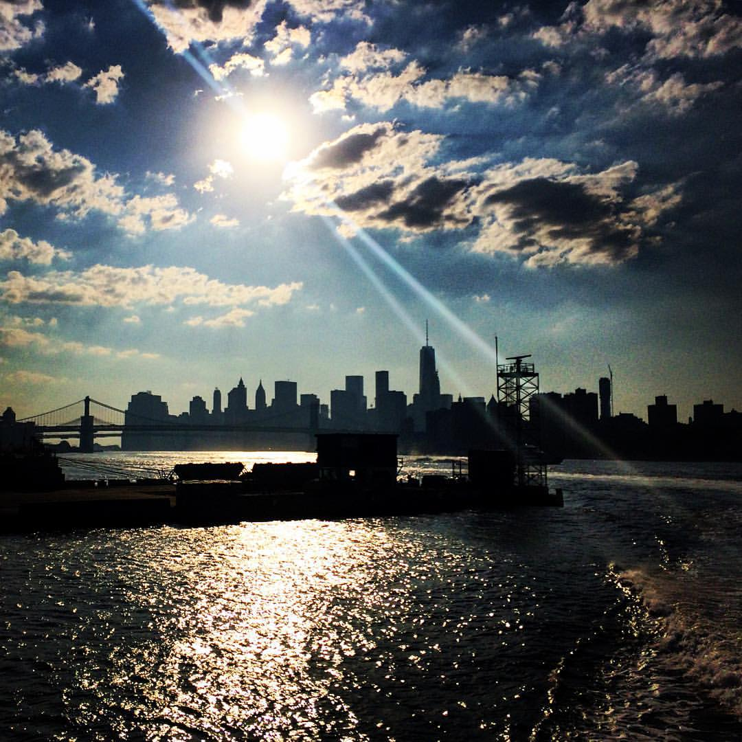 water taxi #NYC #brooklyn #williamsburg #boatboatboat