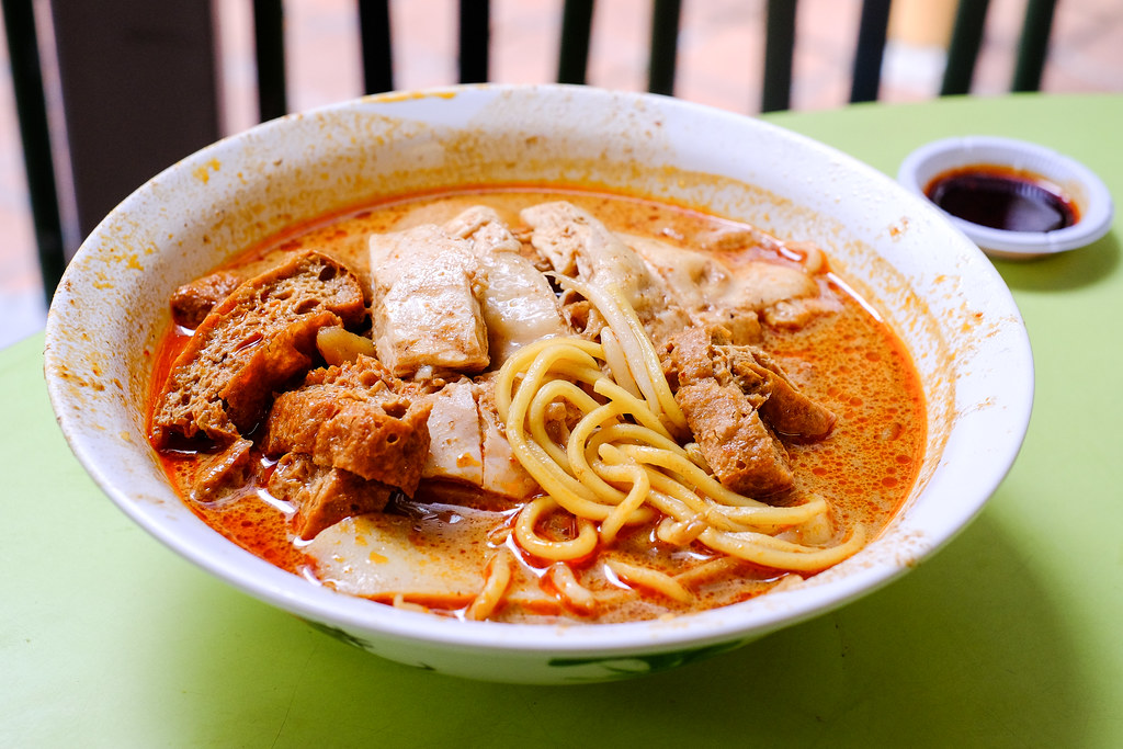 Heng Kee Curry Chicken Bee Hoon Mee