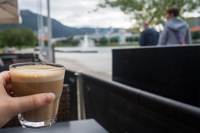 Coffee stop, Bergen
