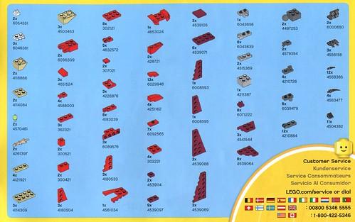 LEGO Creator 31032 Red Creatures ins03