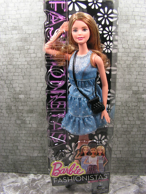 2014 Barbie Fashionistas 8 Denim 'N Dots CLN67 (1)