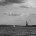 Out in the harbor with the Statue of Liberty by Jason Gambone