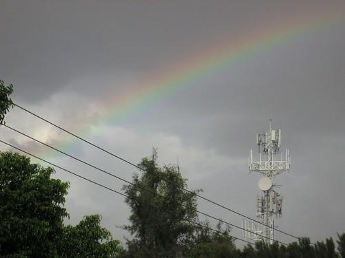 Vía y arco iris 2014