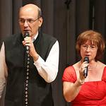 Auftritt von Melitta und Dietmar Giel. Foto Diethard Dietrich