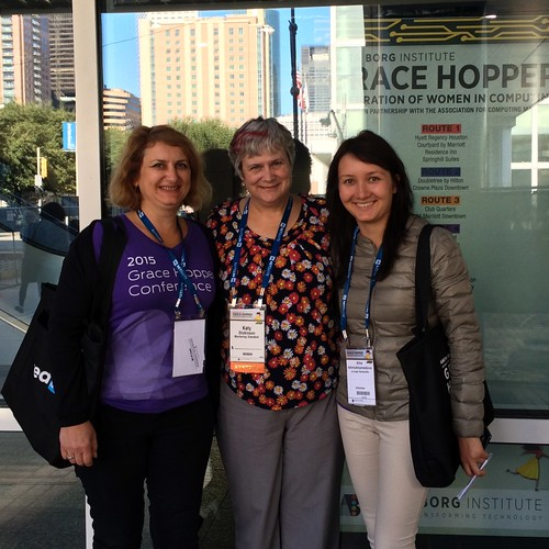 3 TechWomen at the 2015 Hopper Conference