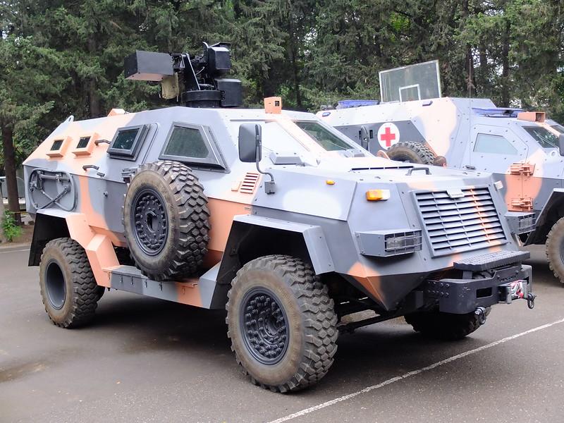 Didgori armored vehicles by Delta, Georgia