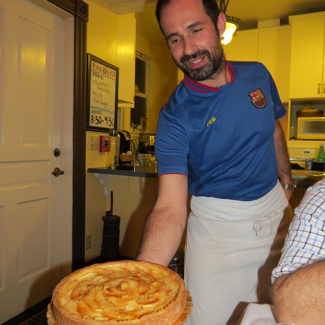 Chef Alessio Casagrande at Captain's Inn