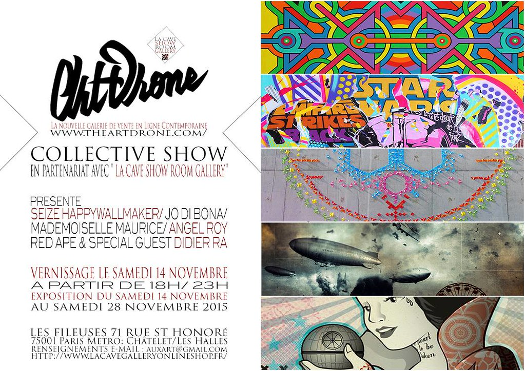 Lancement Du Web Site ART DRONE / Collective Show