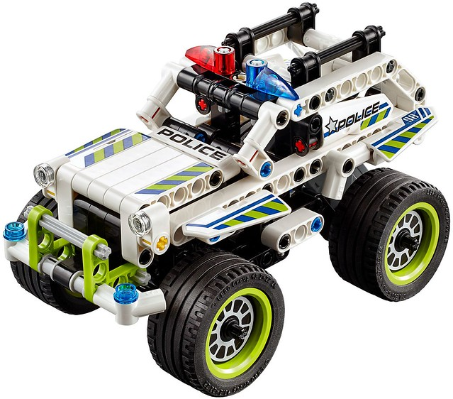 LEGO Technic 2016: 42047 - Police Interceptor