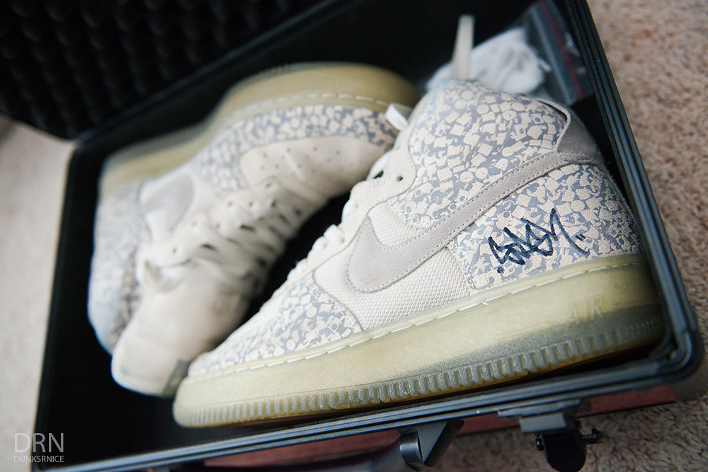 Stash Air Force 1 Signed.