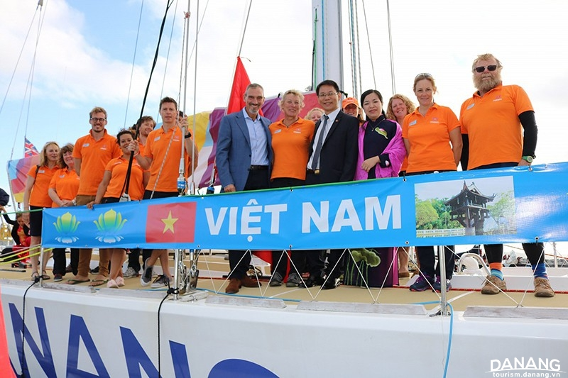 Da Nang yacht arrives in Perth, West Australia