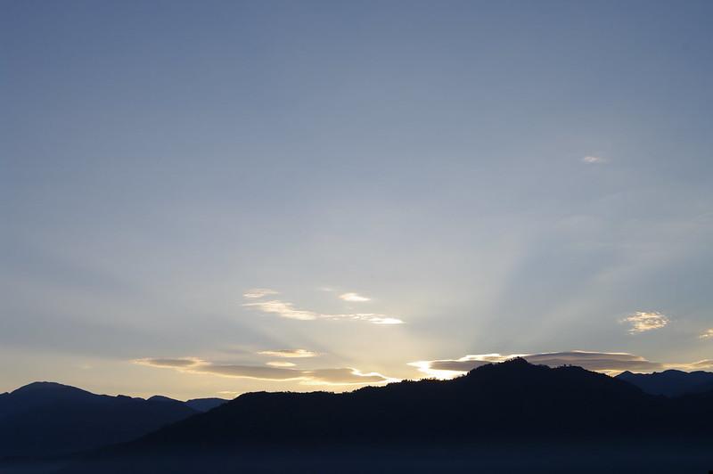 坂戸山から朝日が昇る #2_201510_NO1