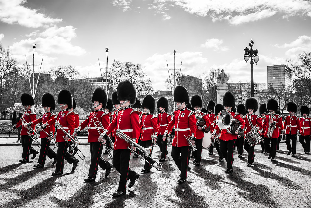 Scots Guard London