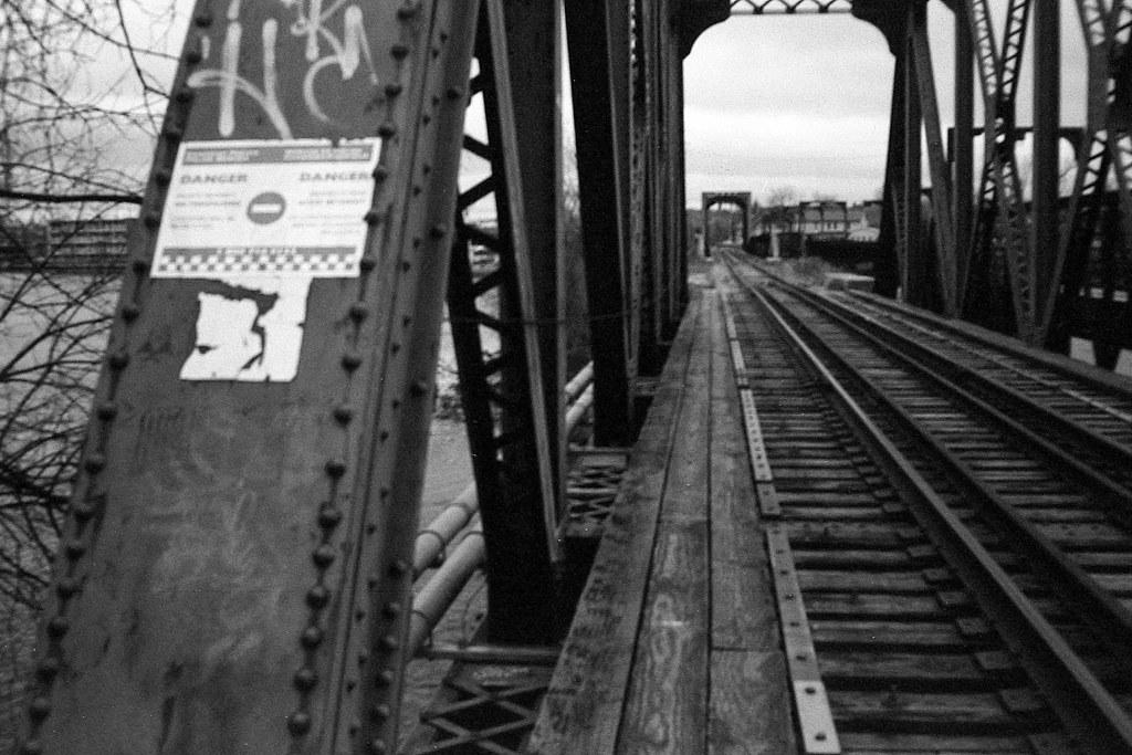 Rail Bridge Over the Otonabee River