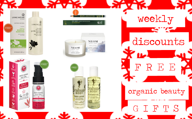 Weekly Discounts and Free Organic Beauty Gifts #45