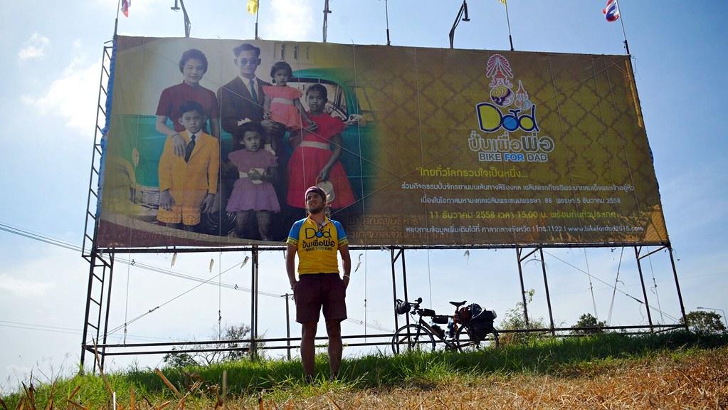 Bike for dad in Thailand