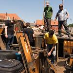 Groot onderhoud Spakenburg juli 2015