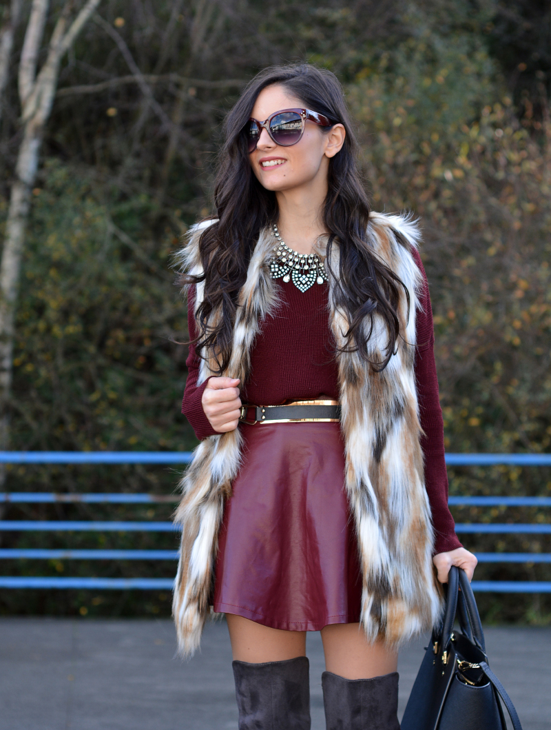 zara_ootd_highboots_burdeos_burgundy_vest_michael kors_06