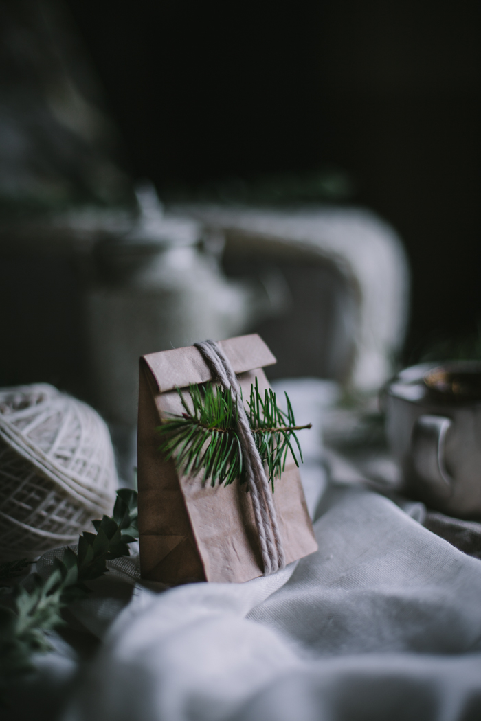Foraged Fir Tip Tea DIY Gift by Eva Kosmas Flores | Adventures in Cooking