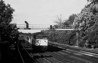91-229  Brighton 150 - a Class 56 on the Brighton Mainline