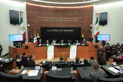 El día 10 de enero del 2017 se llevó a cabo en el Senado de la República la Reunión de trabajo del Senado de la República y la H. Cámara de Diputados para dar inicio a los trabajos legislativos en materia de Seguridad Interior.