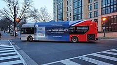 WMATA Metrobus 2011 New Flyer Xcelsior XDE40 #7103