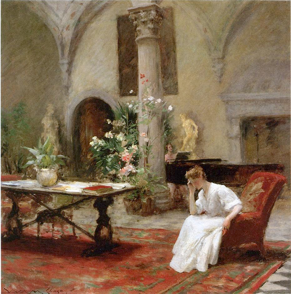 The Song by William Merritt Chase, 1907