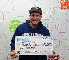 Rodolfo Reyes - $10,000 Santa Paws