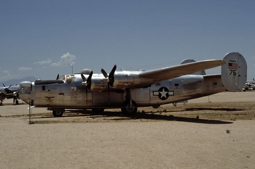 Consolidated B-24 Liberator at the Pima Air & Space Museum, 1980