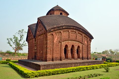 India - West Bengal - Bishnupur - Jorbangla Temple - 78