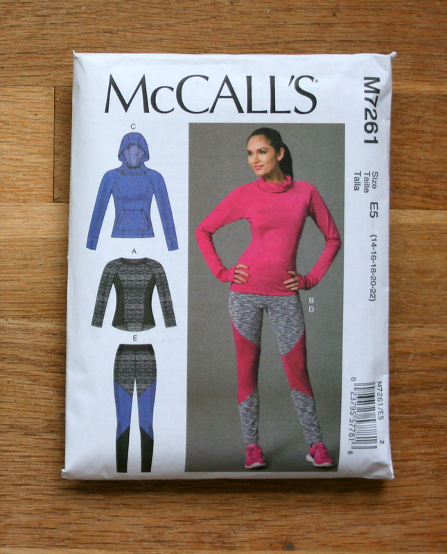 McCall's 7261--Activewear top