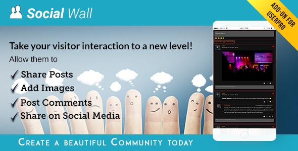 Social Wall Addon for UserPro v4.2