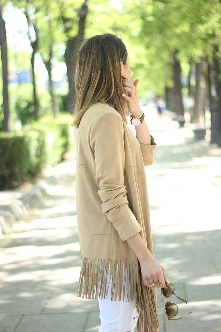 How To Wear Fringes Summer Outfit02