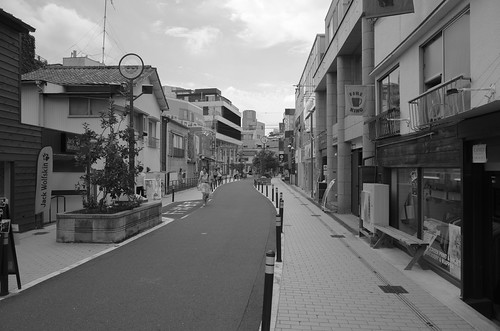 Harajuku - Cat Street BW
