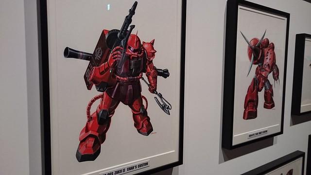 「機動戦士ガンダム展」も行ってきました