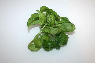05 - Zutat Basilikum / Ingredient basil