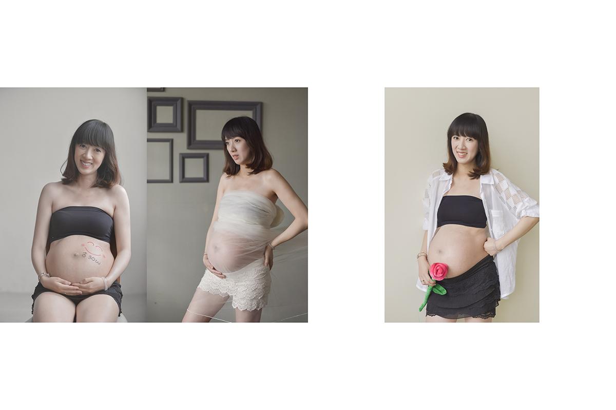 婚攝,孕婦寫真,婚攝冰淇,法鬥攝影棚,全家福,女攝影師