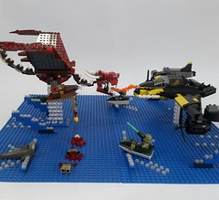 Battle Of The Blue Delta (bloody version, other view)