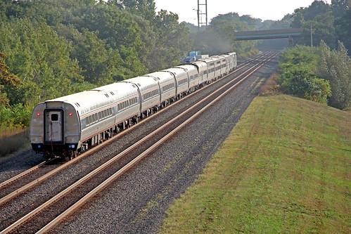 amtrak passengertrains lakeshorelimited passengercars amfleet northeastpennsylvania amtraktrains amfleetequipment amtrakslakeshorelimited