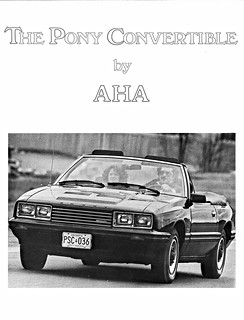 1981 Mercury Capri Pony Convertible by A.H.A. (Canada)