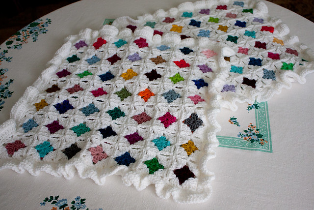 Crocheted Pillow Covers